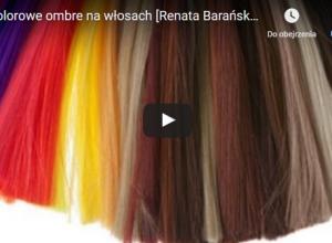 Kolorowe włosy- wakacyjny wizerunek